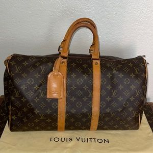 Authentic Louis Vuitton keepall 45 duffle suitcase